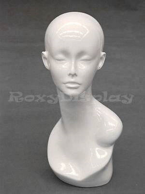 Mannequin Head Bust Wig Hat Jewelry Display #TinaW