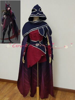 League of legends LOL Xayah Skin Cosplay Costume Kostüme Custom dress Neu