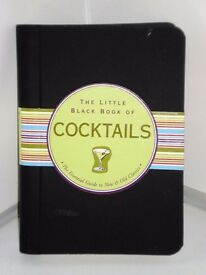 Brand New Book- The Little Black Book Of Cocktails