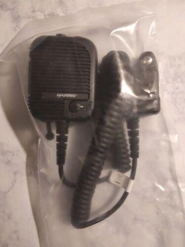 NEW IN BOX HARRIS SPEAKER MIC FOR P5400,P7300, XG-75 AND XG25 PORTABLE RADIOS, P