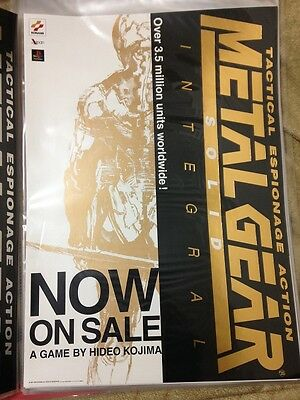 METAL GEAR SOLID Integral Poster 04 Promo