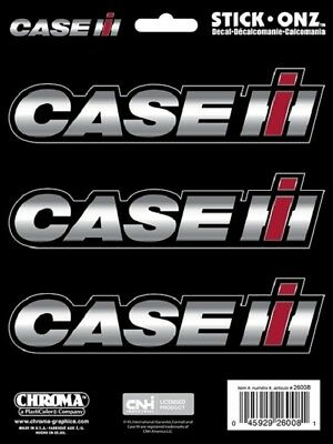 3 Piece Case IH Logo Decal / Sticker by Chroma - Stick Onz