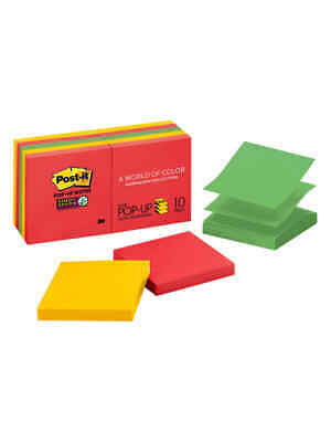 Post-it Super Sticky Pop-up Notes 3 X 3 Marrakesh Pack Of 10 Pads