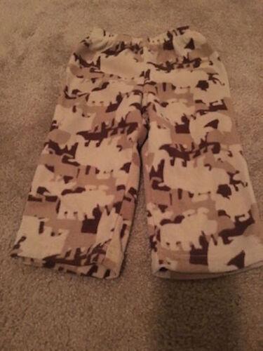 Child Of Mine Baby Infant Boys Fleece Pajama Pants Sz 18M SleepWear Bottoms