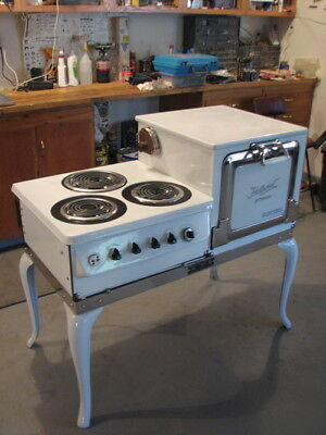 1920s GE Hotpoint Electric Range/Stove - New Wiring & Parts