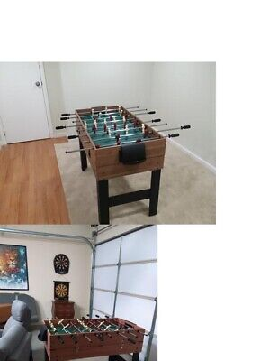 MD Sports 48 Inch 3-In-1 Combo Game Room Table 3 Games Billiards Hockey