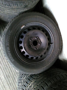 VOLKSWAGEN WINTER RIM & TIRE PACKAGE