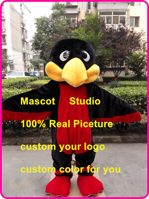 Hawk Mascot Costume Cosplay Party Game Dress Unisex Advertising Halloween Adults](Hawk Costume)