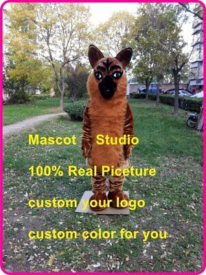 Shepard Dog Mascot Costume Suit Cosplay Party Game Dress Outfit Christmas - Shepards Outfit