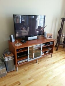 TABLE DE TELEVISION & ACCESSOIRES AND TV TABLE