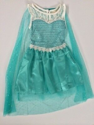 Frozen Elsa Inspired Dress with Cape Size 3 Years New ()
