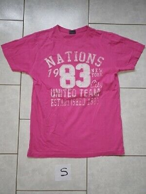 T-shirt rose nation 83 T: S