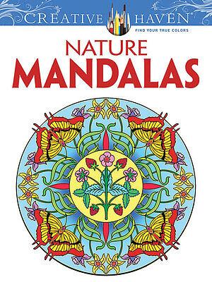 Creative Haven Nature Mandalas Adult Coloring Book