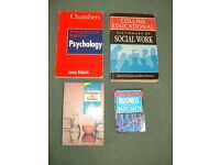 Special subject Dictionaries