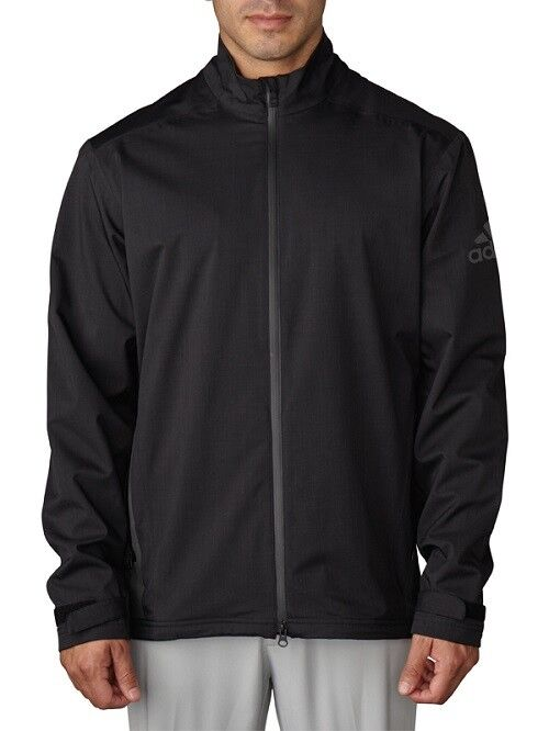 adidas Men's Golf ClimaProof 100% Waterproof Rain Jacket - S