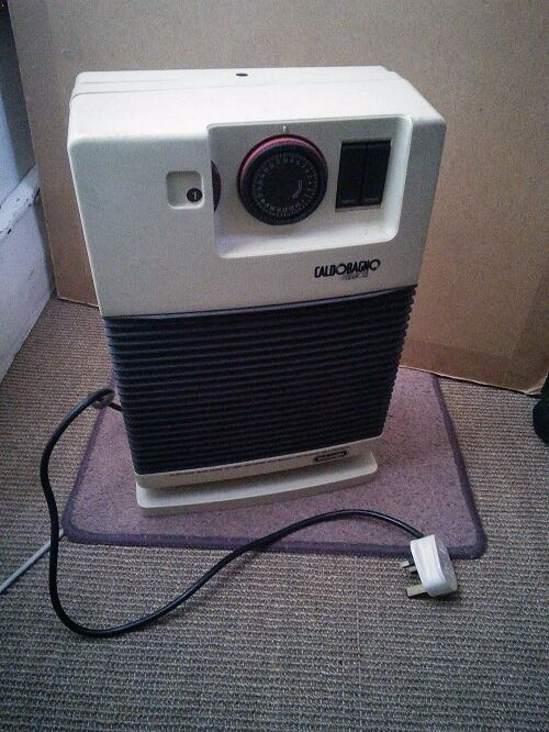 DELONGHI CALDOBAGNO PORTABLE COMPACT ELECTRIC FAN HEATER | in ...