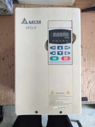 1pc Used Delta Inverter Vfd-f Vfd150f43a 380v 15kw  .