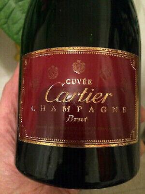 Cartier Champagner CUVEE BRUT 0,75l Flasche RARITÄT EDEL SELTEN EXKLUSIV NEU !!!