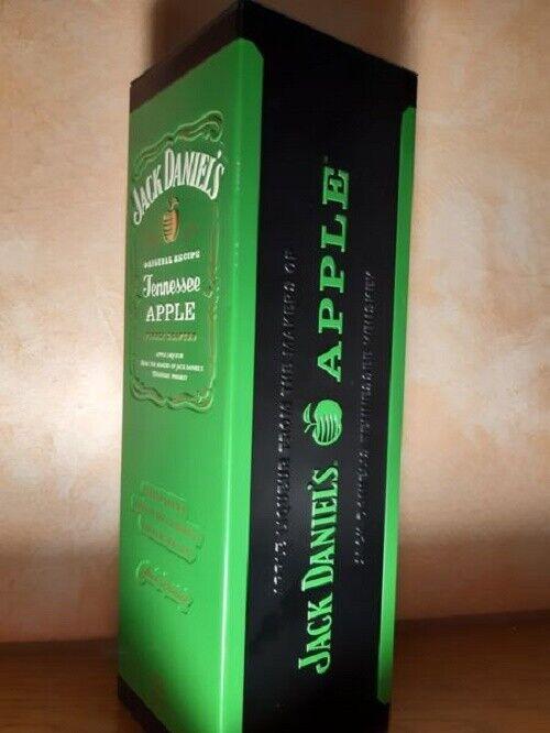 JACK DANIELS APPLE Whisky Tennessee Likör 0,7 NEU in cooler Sammel Metalldose