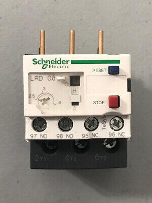 Schneider Telemecanique Lrd08 Overload Relay New