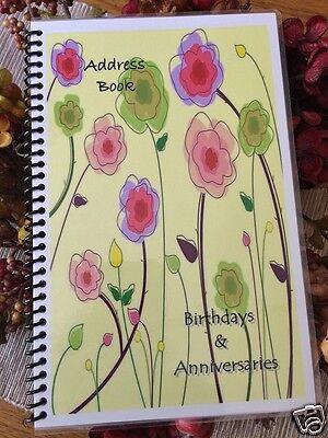 ADDRESS BOOK Telephone BIRTHDAY ANNIVERSARY ORGANIZER Calendar