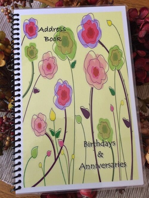 ADDRESS BOOK Telephone BIRTHDAY ANNIVERSARY ORGANIZER Calendar