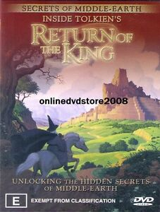 INSIDE-TOLKIENS-Lord-of-the-Rings-RETURN-KING-Middle-Earth-SECRETS-DVD-NEW