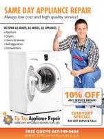Same Day Appliance repair