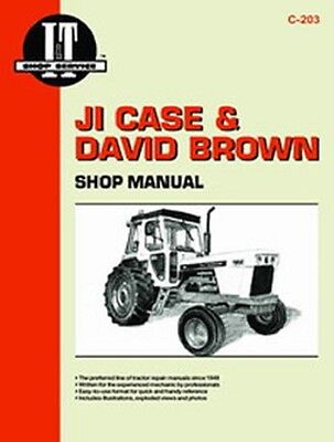 It-c-203 It Shop Manual For Case 770 870 1090 1170 885 995 1200 Tractor