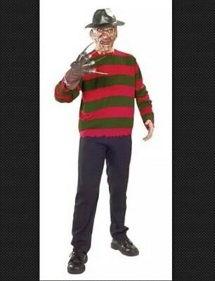 Rubie's Adult Men's HALLOWEEN Freddy Krueger Fancy Dress Horror Costume - Medium - Children's Freddy Krueger Halloween Costumes