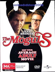 The MOGULS - Jeff BRIDGES & Ted DANSON - Comedy MOVIE DVD (NEW SEALED) Region 4
