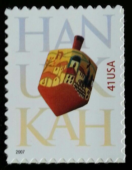 2007 41c Hanukkah, Feast of Dedication Scott 4219 Mint F/VF NH