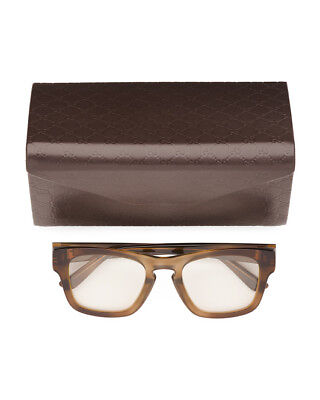 c2b385866dc NWT GUCCI Made In Italy Luxury Optical Glasses GG 3791 S OHO Brown 49-22-140