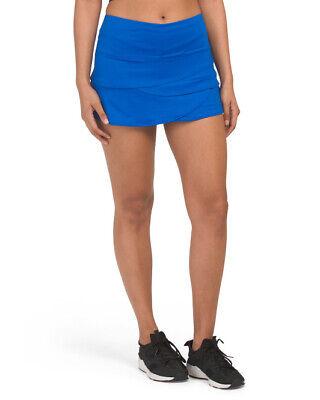 Lucky in Love Royal Blue Tennis Scallop Skirt Skort NWT - Size Medium M Blue Tennis Skirt