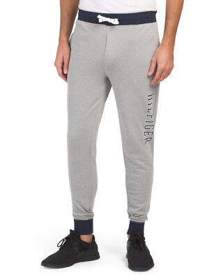 TOMMY HILFIGER Men's French Terry Lounge Joggers Pajama Pant