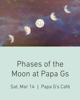 Paint Phases of the Moon March 14