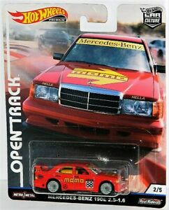Hot Wheels Premium 1/64 Open Track Diecast Car