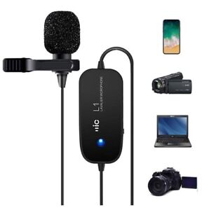BRAND NEW Rechargeable Lavalier Microphone (Lapel)