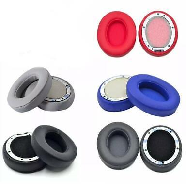 2x Ohrpolster für Beats Solo 2 Wireless 3 Kopfhörer Kunstleder Headphones Ersatz ()