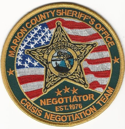Negotiator Marion County Sheriff Florida Police State FL