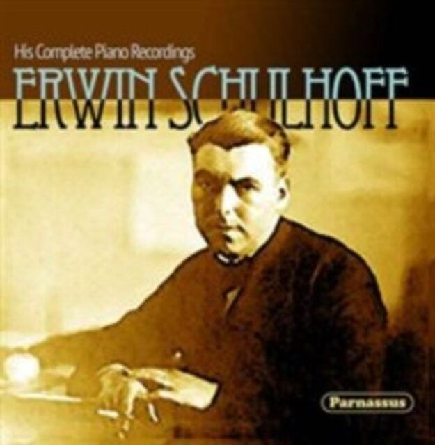 CD ERWIN SCHULHOFF COMPLETE PIANO RECORDINGS 1928 - 1929 plus MOZART THUILLE