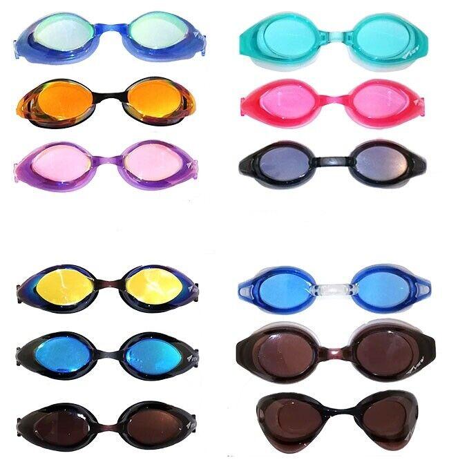 VIEW® Schwimmbrille Taucherbrille Anti Fog UV Schutz verspiegelt Erwachsene