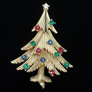 Trifari Christmas Tree Pin