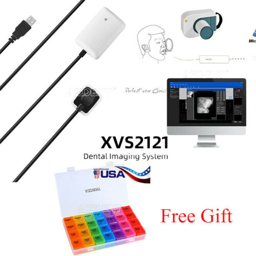 Dental Imaging System Intraoral Digital X-Ray RVG SENSOR SIZE 1.0+Free Gift UPS
