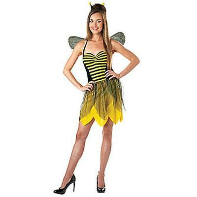 NEW Totally Ghoul Miss Bee Woman Adult Costume Size: (Miss Bee Costume)