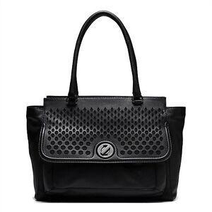 MUSE WORKER TOTE in BLACK with MATTE BLACK HARDWARE, RRP $550 Ashgrove Brisbane North West Preview