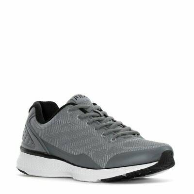 FILA Memory Startup Men's Running Shoes Grey/Black Sneakers