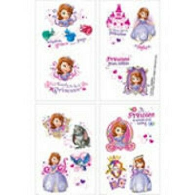 2 Packs Of Sofia the First Tattoos 1 Sheet 16 perforated Tattoos](Sofia The First Tattoos)