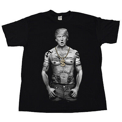 The Don Donald Trump 2020 Gop Republican Party Fake News Thug Life Tee T Shirt