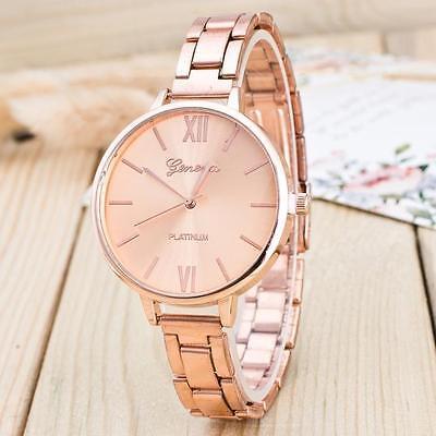 $9.89 - US Luxury Women's Ladies Stainless Steel Analog Alloy Quartz Wrist Watch Watches